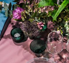 Vasario mėnesio stalo dekoras pagal Alfą Ivanauską