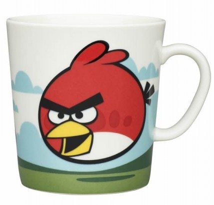 Puodelis 0,4 l, Angry Birds Red