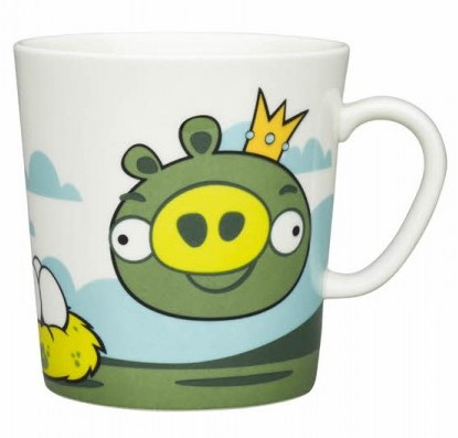 Puodelis 0,4 l, Angry Birds King Pig