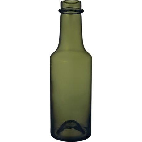Vaza - butelis 95x330 mm samanų žalia | moss green