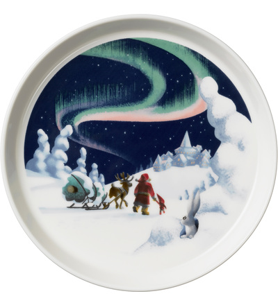 6411801001839 santa claus plate 19cm northern lights.jpg