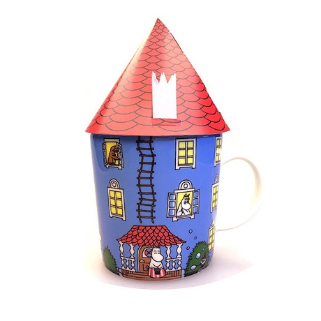 Puodelis 0,3 l, Moomin house