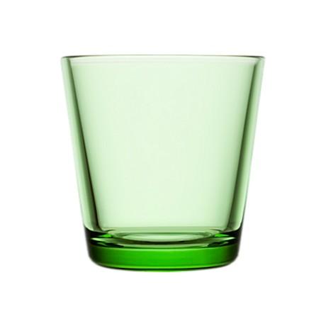 Stiklinė 210 ml 2 vnt. obuolio žalumo | apple green