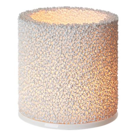 Žvakidė 11 cm balta | white