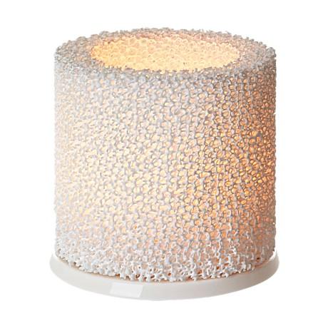 Žvakidė 9 cm balta | white
