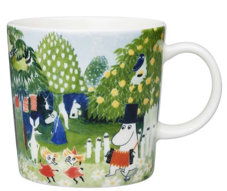 Puodelis 0,3 L Moominvalley
