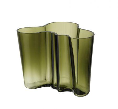 Vaza 160 mm samanų žalia | moss green
