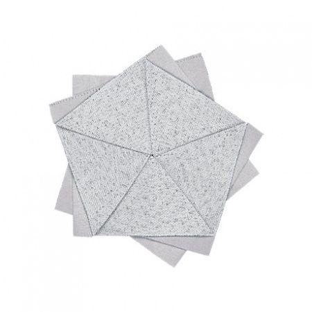 Stalo gėlė 15 cm šviesiai pilka | light grey