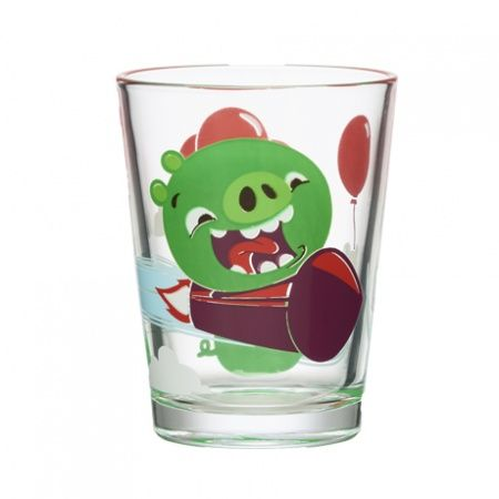 Stiklinė 220 ml, Angry Birds Piggies
