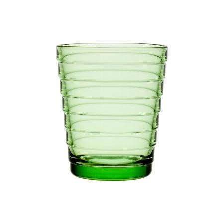 Aino Aalto stiklinė 220ml 2vnt. obuolio žalumo | apple green