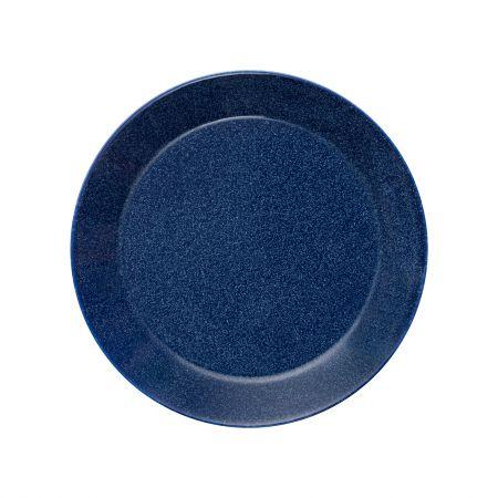Lėkštė 21 cm taškuota mėlyna | dotted blue