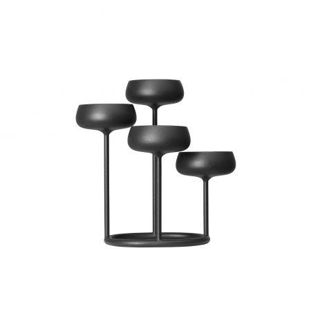 Žvakidė 251x263 mm tamsiai pilka | dark grey