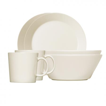 Pusryčių rinkinys dviems baltas | white