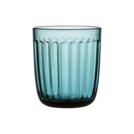 Stiklinė 260 ml 2 vnt. jūros mėlyna | sea blue