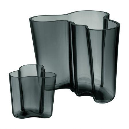 Vazų rinkinys 160 + 90 mm tamsiai pilkas | dark grey