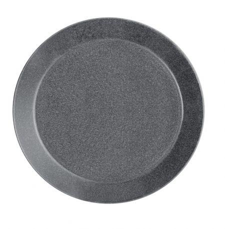 Lėkštė 21 cm taškuota pilka | dotted grey