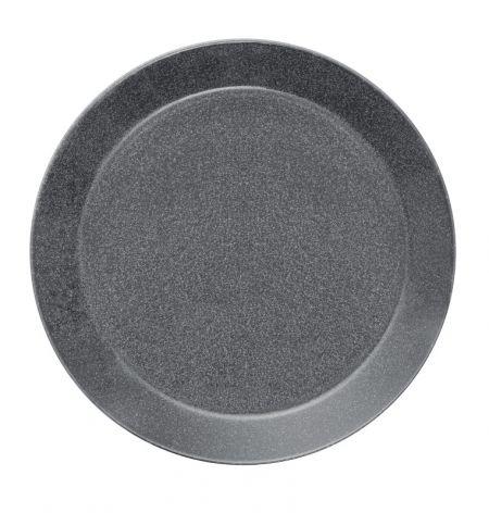 Lėkštė 26 cm taškuota pilka | dotted grey