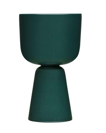 Vazonas 260x155 mm tamsiai žalias | dark green