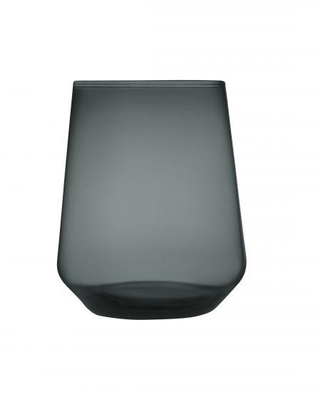 Stiklinė 350 ml tamsiai pilka 2 vnt. | dark grey