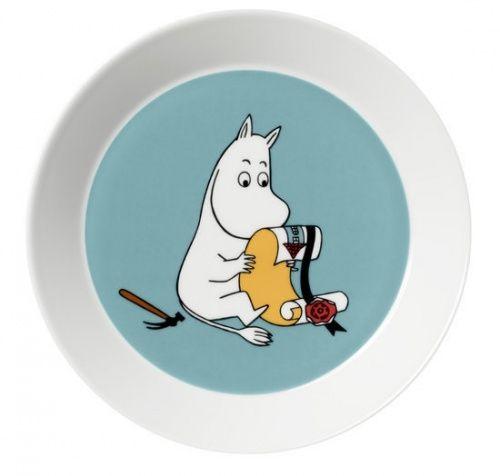 Lėkštė 19 cm Moomintroll Turquoise